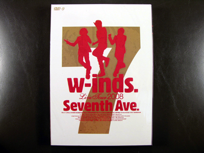 "W-inds. Live Tour 2008 ""Seventh Ave."" DVD"