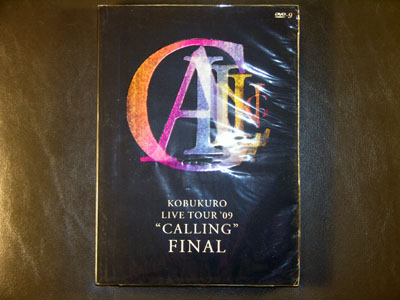 "Kobukuro ""Calling"" Final Live Tour 2009 DVD"