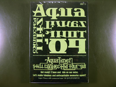 Aqua Timez still connected Tour '09 DVD