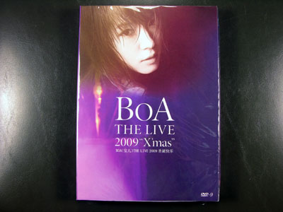 BoA-The Live 2009 X'mas DVD