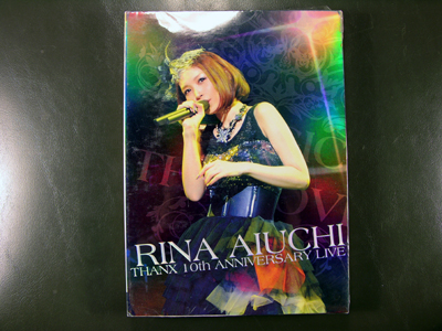 Rina Aiuchi THANX 10th ANNIVERSARY LIVE - MAGIC OF THE LOVE DVD