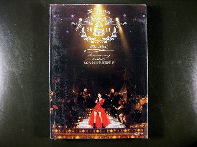 "BoA THE LIVE 2011""X'mas"" - The 10th Anniversary Edition DVD"