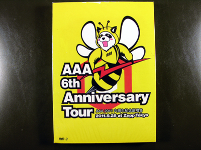 AAA 6th Anniversary Tour At Zepp Tokyo DVD