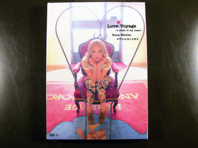 Kana Nishino Love Voyage A Place of My Heart 2012 DVD