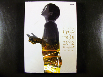 Ayaka LIVE TOUR 2012 - The beginning DVD