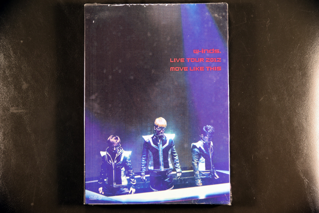 w-inds. LIVE TOUR 2012 MOVE LIKE THIS  DVD