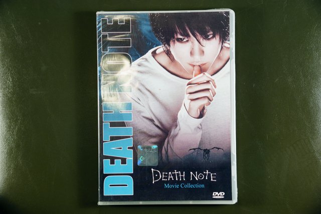 Death Note Movie Collection DVD English Subtitle